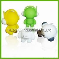 Cheap PVC Muisc Boy USB Pendrive for sale