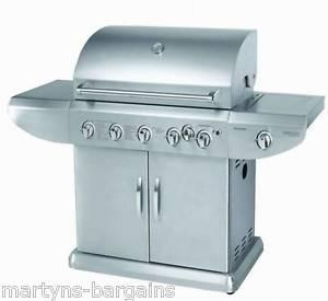Quality 5 BURNER GAS BBQ WITH SIDE BURNER + ROTISSERIE BARBEQUE 489.99 wholesale