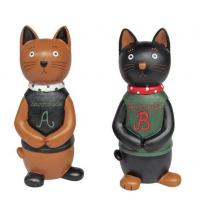 China 820362 Cute cat money bank on sale