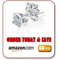 Cheap 14K White Gold Earrings for sale