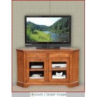 China Winners Only Glass Door Corner TV Stand WO-TT155WB on sale