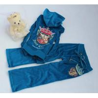 Buy cheap Juicy Couture Girls Velour Tracksuits - Velour Hoodies 8030 ( 4 Color) from wholesalers