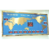 China World time zone clock (FXW01) on sale