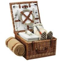 Cheap Picnic at Ascot - London Cheshire Basket for Two w BlanketItem #: 344503 for sale