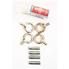 Quality 2 Pairs Stainless Steel Eyebolts & 1 Tube of Glue wholesale
