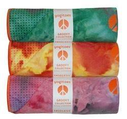 China yogitoes SKIDLESS Yoga Mat Towel - GROOVY COLLECTION