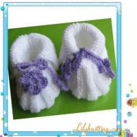 Cheap PATTERN in PDFKnitted Baby Maryjane BootiesBaby Booties 14 for sale