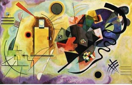"""Quality Kandinsky, Wassily """"yellow-red-blue 1925"""" wholesale"""