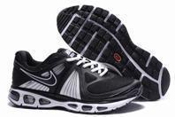 Cheap Mens Nike Air Max Tailwind + 2010 Flywire Mesh (black /white) for sale