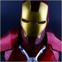 Cheap NEW!The Avengers 1/1.5 IRON MAN / Statue/ Colour:Red for sale