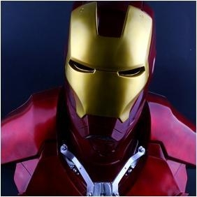 Quality NEW!The Avengers 1/1.5 IRON MAN / Statue/ Colour:Red wholesale