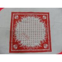 Buy cheap Water Absorbing 100% Cotton Silkscreen Printing Personalized Handkerchief from wholesalers