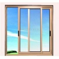 Cheap 1.4mm profile thickness white material fly screen aluminum sliding windows for residential for sale
