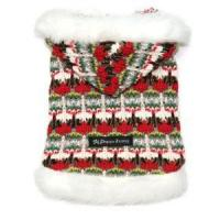 Cheap Red Knit Dog Sweater for sale