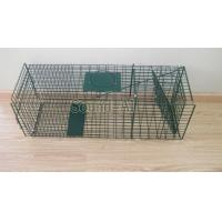 Collapsible One-door Live Animal Cage Trap For Raccon,Stray Cat,Groundhog, Opossum,Armadillos SD649