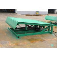 Stationary hydraulic yard ramp/leveler HQ