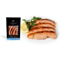 Barbequed Peppered Smoked Salmon