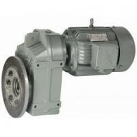 Buy cheap Helical Geared Motor FAF parallel shaft helical geared motor from wholesalers