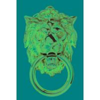 FG8C Lion Head Door Knocker