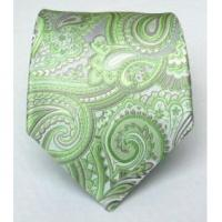 Cheap 100% Silk Woven Apple Paisley Tie for sale