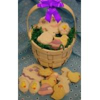 Cheap Easter Cookie Gift Basket for sale