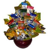 Cheap Gourmet Gold Candy Bouquet for sale