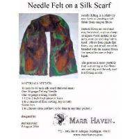 Cheap Needle Felt Instructions for Silk Scarf, Hat or Purse for sale