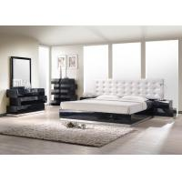 Modern bedroom furniture milan bedroom set in black milan bedroom set