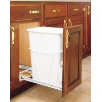 China Trash & Recycle 30 quart sliding trash systems fits in 9 5/8 opening on sale