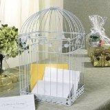 Cheap Photo Albums White Birdcage Wedding Gift Card Holder Wishing Well for sale