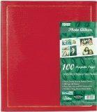 Photo Albums Pioneer Magnetic Page Photo Album, 10-Inch-by-11-1/2-Inch, 100 Pages, Colors May vary
