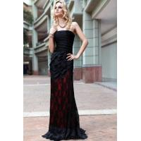 Buy cheap Evening Dress Black Strapless Mermaid Cocktail Dress from wholesalers