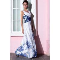 Buy cheap Evening Dress Printed Cowl Neck Cocktail Dress from wholesalers