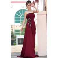 Buy cheap Evening Dress Draped Strapless Evening Gown from wholesalers