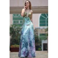 Buy cheap Evening Dress Leopard Print Halter Neck Cocktail Dress from wholesalers