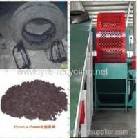 China Waste Tire Recycling Line Crumb Rubber Plant For Tire Recycling on sale