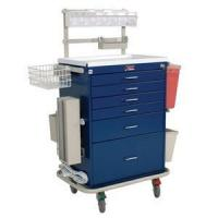 Buy cheap Anesthesia Carts Harloff #6456 Six Drawer Anesthesia Cart with Deluxe Package - Key Lock from wholesalers