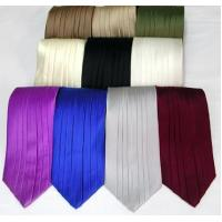Cheap Silk Pleated Tie - 8 Colors for sale