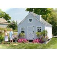 Kids Cottages Kids Outdoor Playhouse Kit - 8x10 Wooden Cape Cod Style Cottage