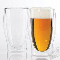 China Barware Steady-Temp Double Wall Beer Glasses on sale