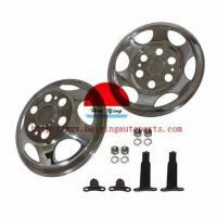 China Exterior Accessories HY71608 16 STAINLESS STEEL HUB CAPS on sale