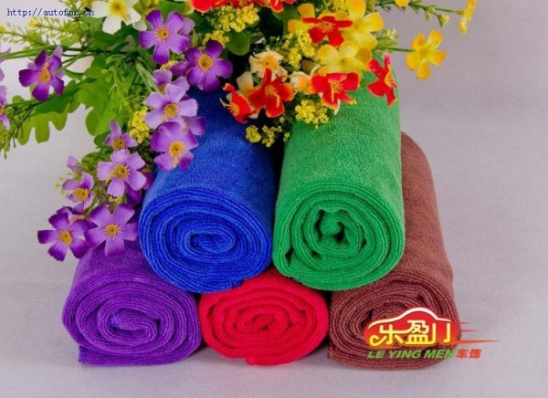 China Car Accessory microfiber towel car
