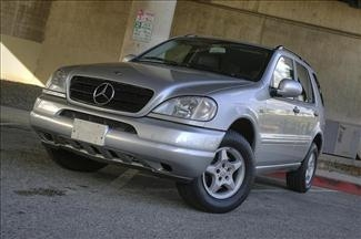 2001 mercedes benz m class ml320 sunroof premium for 2001 mercedes benz m class ml320