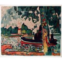 Oil Painting Maurice_de_Vlaminck_Art_20 for sale