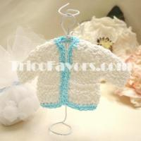 Cheap Knitted: Baby Sweater-Blue for sale