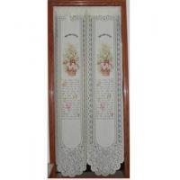 Cheap Door Decor Flower Basket Knitting Printing Door Curtain D2925 for sale