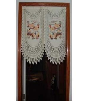 Quality Door Decor Lovely Sailor Bear Knitting Door Curtain D2921-1 wholesale