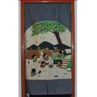 Door Decor Child Enjoyment Garden Door Curtain D2903