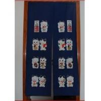 Cheap Door Decor Lovely Maneki Neko fabric Door Curtain D2909 for sale