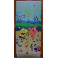 Cheap Door Decor Spongebob Happly Linen Door Curtain D2919 for sale